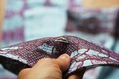 bag tutorial button hole