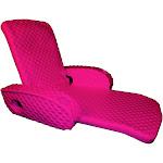 TRC Recreation Super Soft Adjustable Pool Water Recliner Float, Flamingo Pink at VM Express