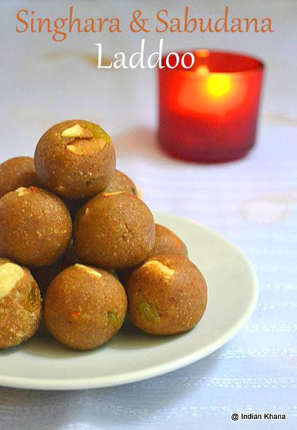 Sabudana Singhara Laddu