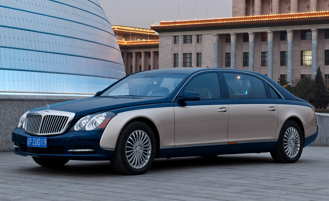 Mercedes-Benz Launches New Maybach
