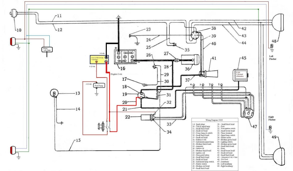 Wiring Manual PDF: 1931 Ford Model A Wiring Diagram