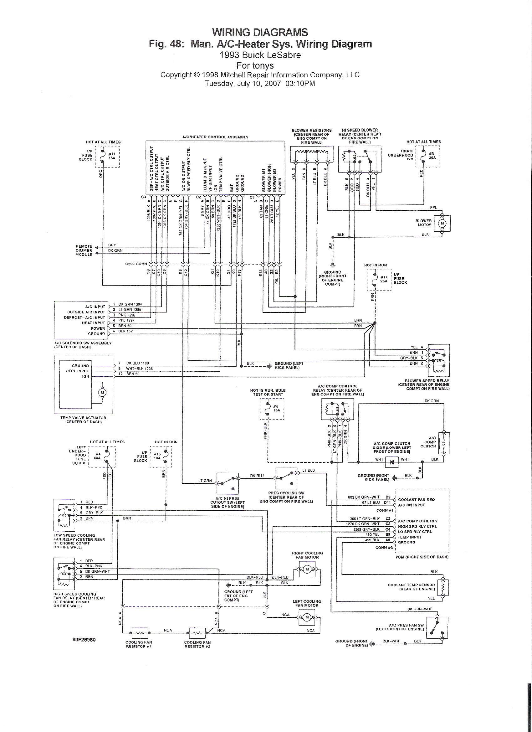 Diagram Based Wiring Diagram For 1993 Buick Lesabre Completed Diagram Base Buick Lesabre Muriel Caronne Eardiagram Pcinformi It