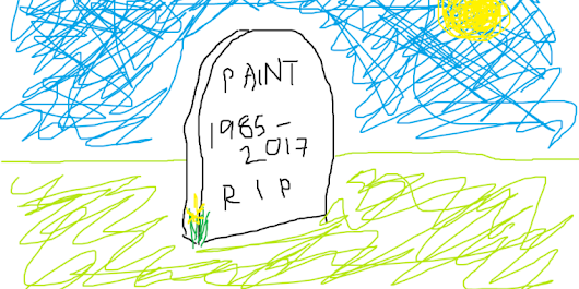 Windows Paint is now officially not getting updated any more [Updated]