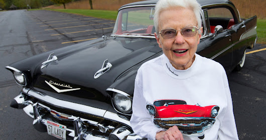 Sweet '57 Chevy - West Bend woman's only car for 60 years - is up for sale