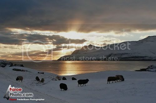 Faroe Islands, during colder months