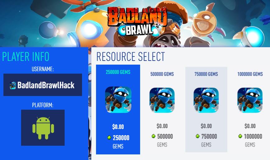 Badland Brawl Hack Cheat – Badland Brawl Gems and Gold: Badland Brawl Hack Mod – Cheat Badland Brawl Gems and Gold
