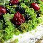 Mech leśny, ciasto ze szpinakiem (bez glutenu)