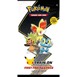 Pokemon Trading Card Game First Partner Kalos Region (Chespin, Fennekin & Froakie) Pack [3 OVERSIZE Promo Cards & 2 Booster Packs]