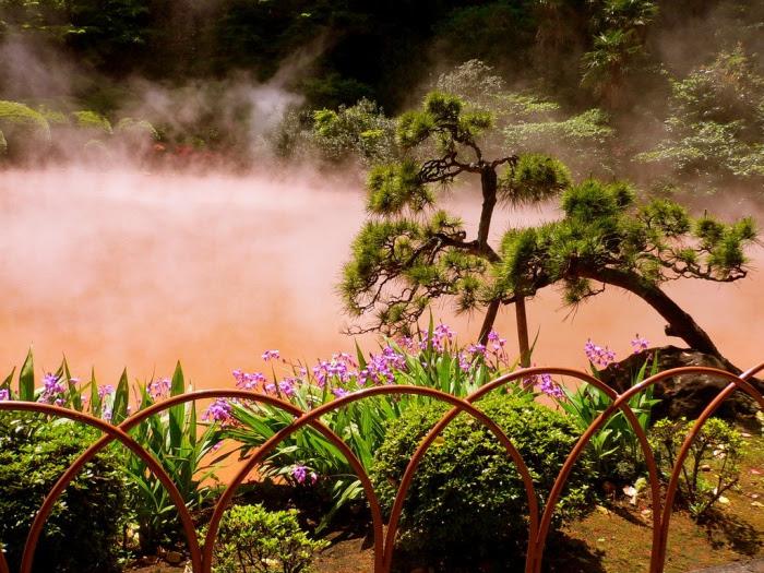 Iron Spring, Beppu, Japan