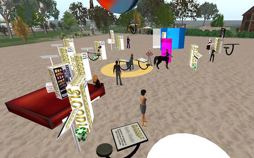 SLoodle Release Party 0.4 - Session 1 by moggs oceanlane, on Flickr