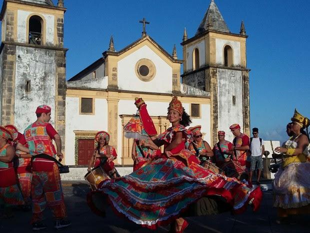 Maria Clara no aniversário de Olinda-Recife (Foto: Bruno Marinho)