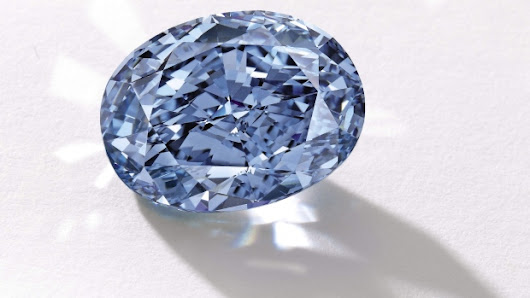Rare blue diamond breaks auction records in Hong Kong