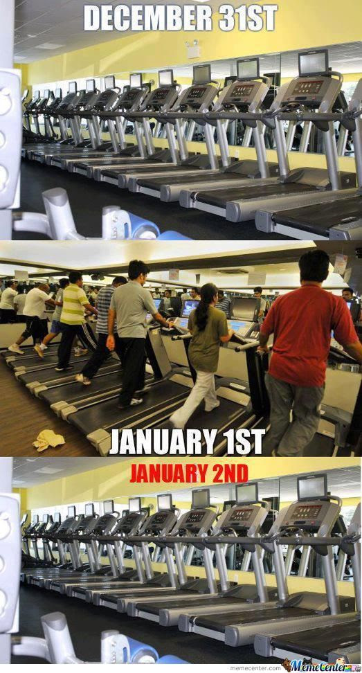 Image result for new year gym meme