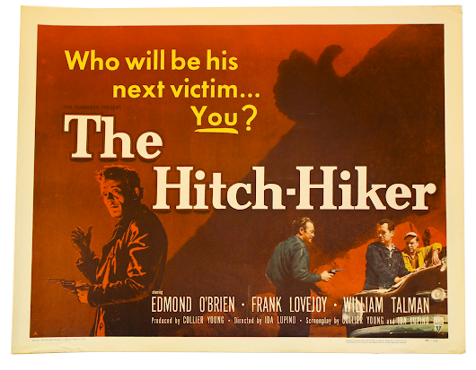 Watch The Hitch-Hiker by Ida Lupino (the Only Female Director of a 1950s Noir Film)
