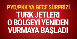 Türk jetleri terör hedeflerini yeniden vurmaya başladı!