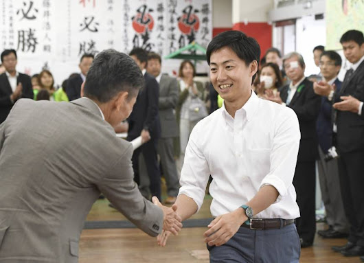Nation's youngest mayor, appealing bribery conviction in Gifu, wins third term uncontested | The Japan Times