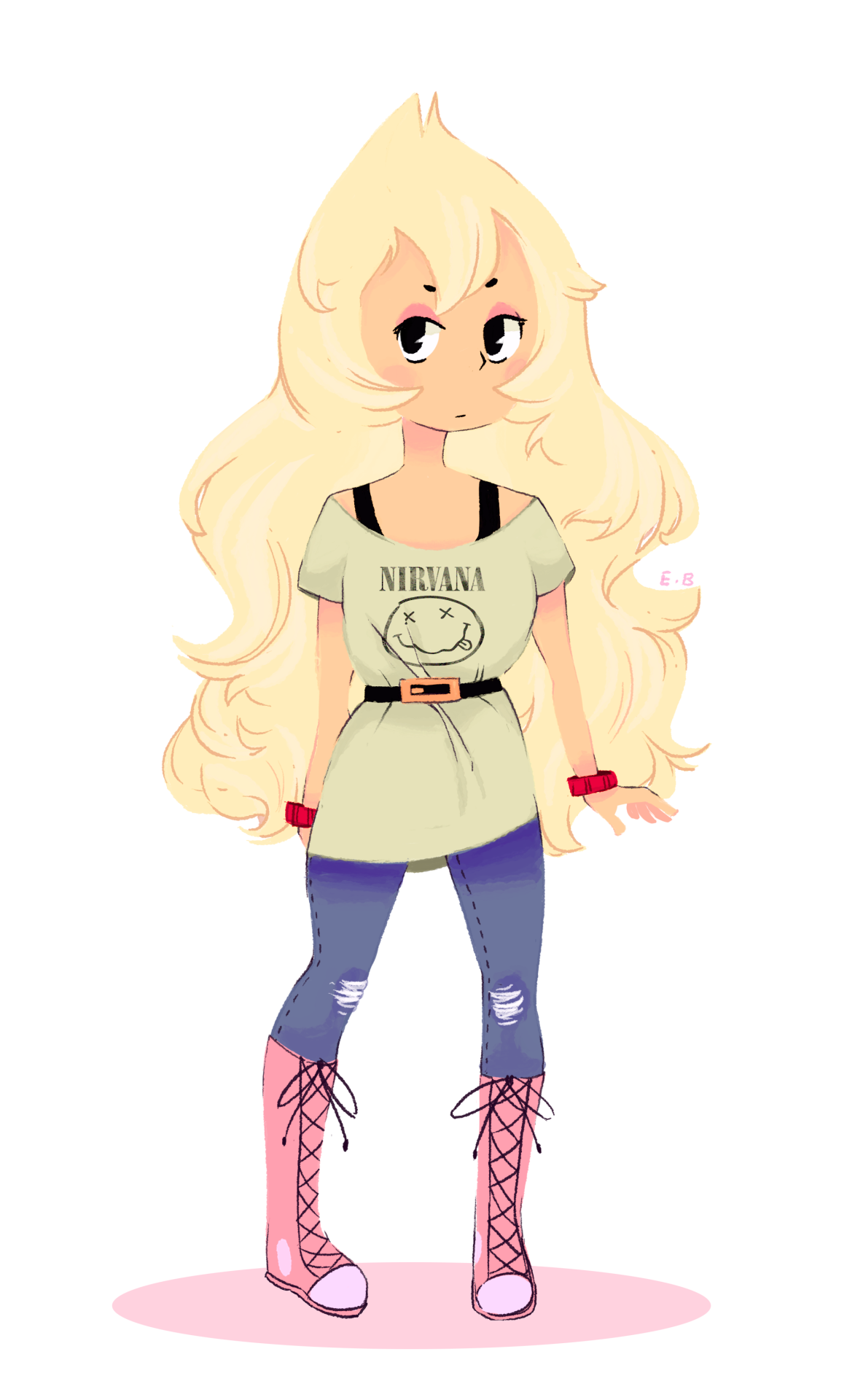 "I had an urge to draw Vidalia once I watched ""Story for Steven."" Sorry if i messed up the hair ;3"
