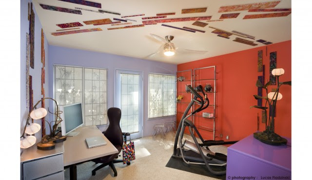 modern home office by Susan Diana Harris Interior Design