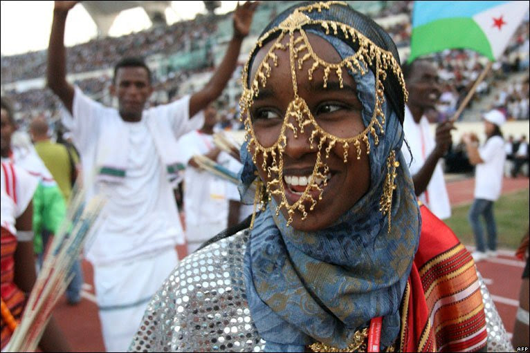 dynamicafrica:  Happy Independence Day Djibouti!   The Republic of Djibouti is a successor of French Somaliland. It was later referred to as the French territory of the Afars and Issas. The country was created in 19th century after French became interested in the Horn of Africa as a reaction growing British interests in Egypt. The first elections were held in the region on 23rd November 1958.  French President Charles de Gaulle visited Djibouti in August 1966 – it was met with 2 days of public demonstrations by Somalis who demanded independence. Louis Saget was appointed governor general of the region on 21st September 1966. He announced that the French government had decided to stage a referendum to see if the local people still wanted to be a part of the French Republic.  In the referendum held in March 1967 60 percent of the people decided to remain with France. In July 1967, as per an order from France, the name of the region was changed to French Territory of Afars and Issas. The administrative structure of the territory was changed as well by the directive.  In 1975 French government started to face growing and persistent demands for independence from Djibouti. In June 1976 the citizenship law of the region was modified to reflect the importance of Issa Somali. In a referendum in May 1977 the electorate voted in favor of independence. The Republic of Djibouti became a reality on 27th June 1977.