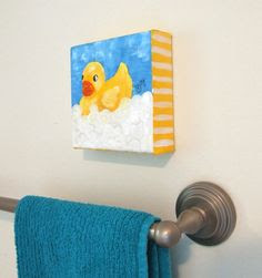Duck bathroom project