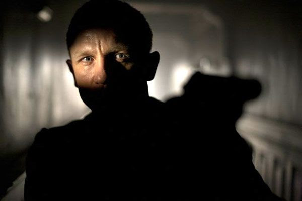 Daniel Craig is back as James Bond in SKYFALL.