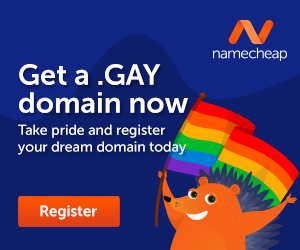 Take Pride and Register a Gay domain today