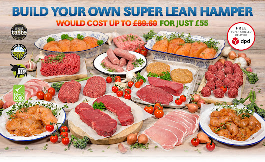 Build Your Own Lean Muscle Food Meat Hamper