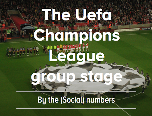 INFOGRAPHIC: the UEFA Champions League so far by the numbers | TOK.tv