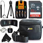 Ideal Accessory Kit for Nikon Coolpix L840, L830, L820, L810, L620 L610, L320, L32, L31, L30, L28, L26, L24, L22, L20, L19 Digital Cameras Includes