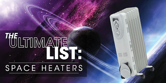The Ultimate List: Space Heaters