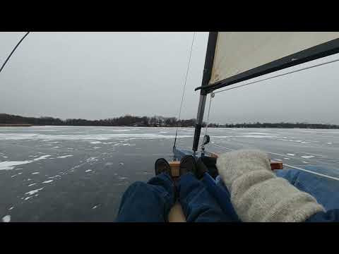 Out For Some Hard Water Sailing This Weekend.