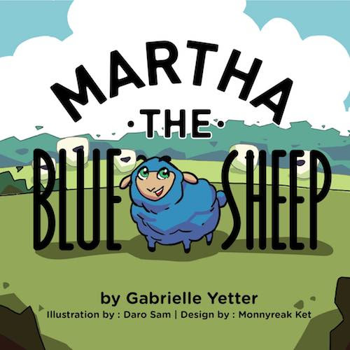 Martha the Blue Sheep by Gabrielle Yetter plus giveaway