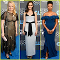 Elisabeth Moss & 'Handmaid's Tale' Cast Step Out at Critics' Choice Awards 2018! Elisabeth Moss , Alexis...