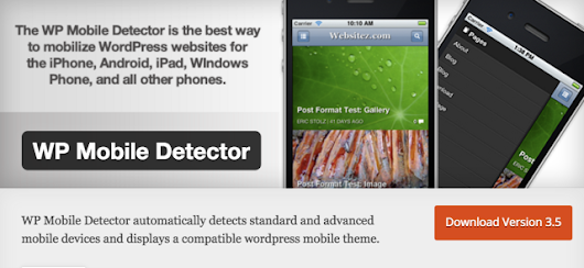 WP Mobile Detector: You Should Uninstall It Now - The DCGWS Blog