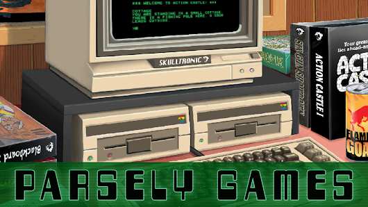 Parsely Games: Featuring ACTION CASTLE and Other Adventures