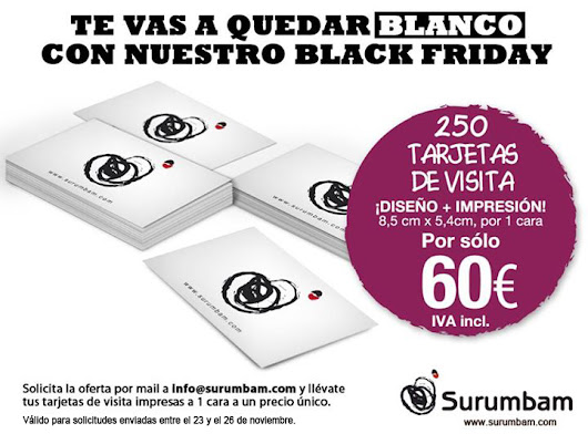 ★ Oferta Black Friday Surumbam | Surumbam