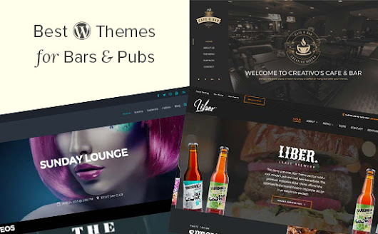 24 Best WordPress Themes for Bars & Pubs (2017)