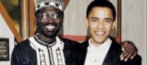 The President and his half-brother, Malik Obama.