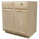 "Kapal LLC B30-PFP 30"" Pine Base Cabinet"
