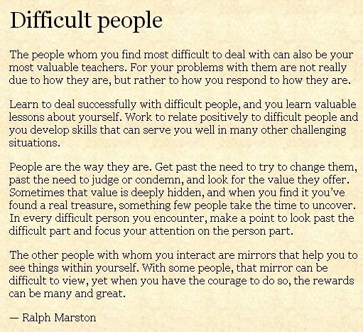Quotes About Difficult People 330 Quotes
