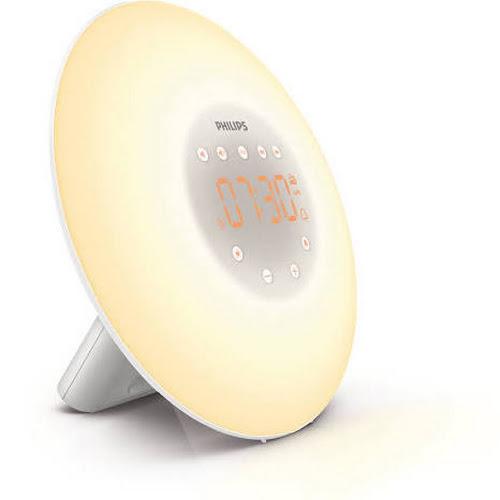 Philips Wake-up Light with Radio, White