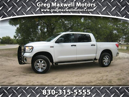 Used 2008 Toyota Tundra for Sale in Kerrville TX 78028 Greg Maxwell Motors