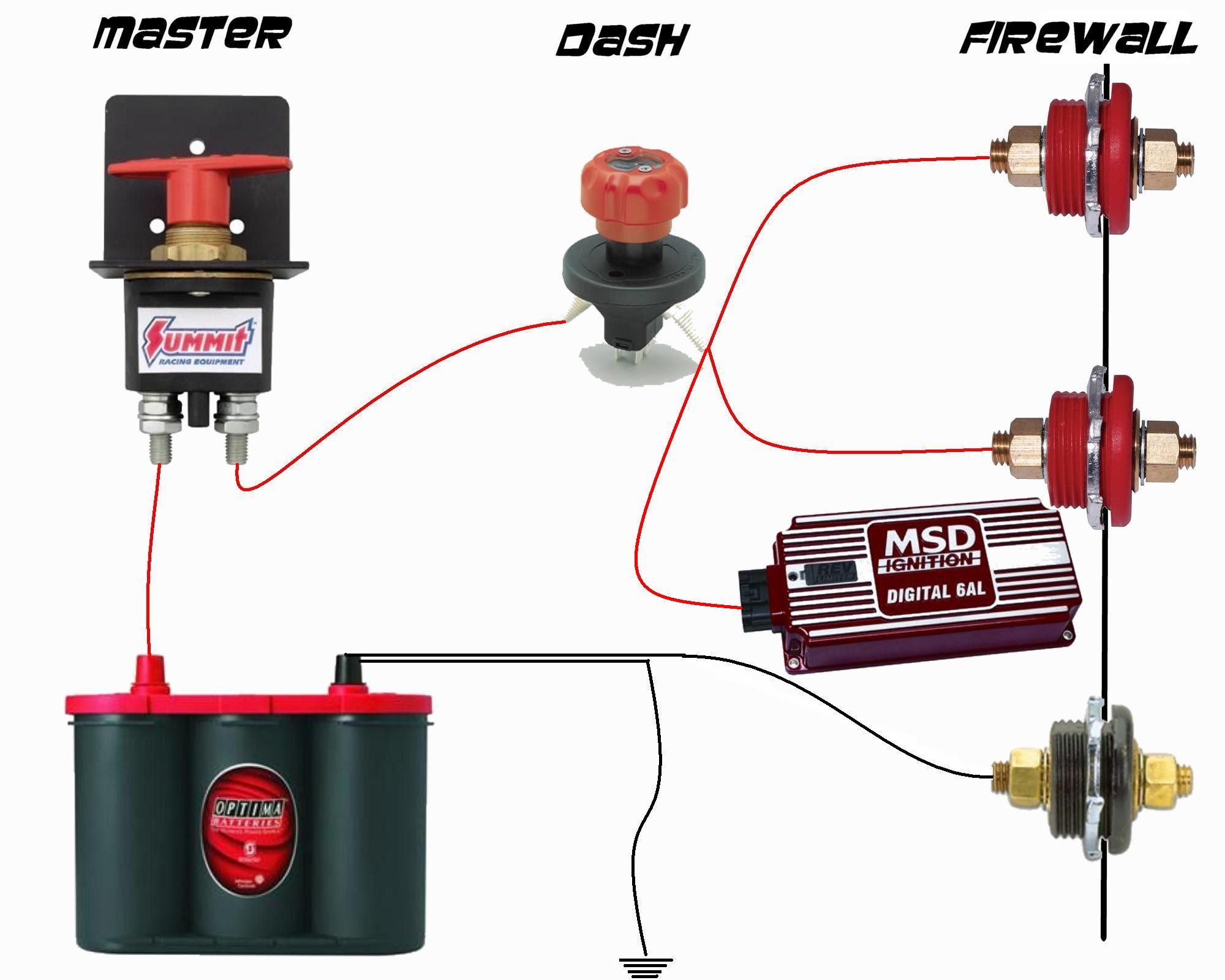 Msd Alternator Wiring Diagram