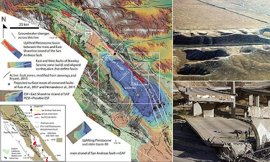California's 'big one' could be triggered by Durmid ladder structure