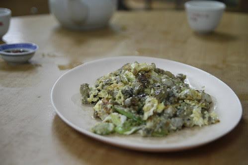 O-Jian (Oyster egg omelette)