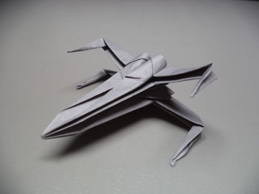 How to Make X-Wing Origami | Make: