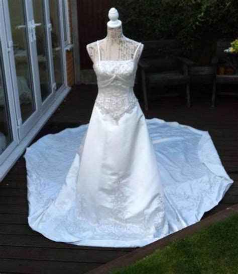 Cherished Gowns for Angel Babies UK turn wedding dresses