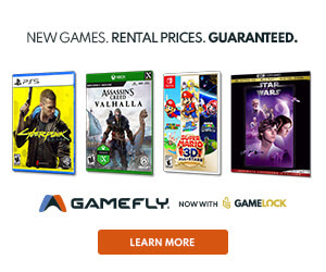 Signup for GameFly today to get the latest PS4 & Xbox games!
