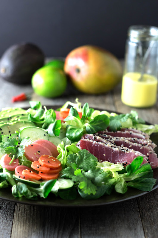 Sesame Tuna Salad