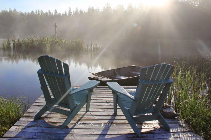 Aiken House & Gardens: One Foggy Day
